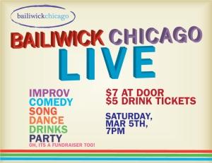 Bailiwick Chicago LIVE